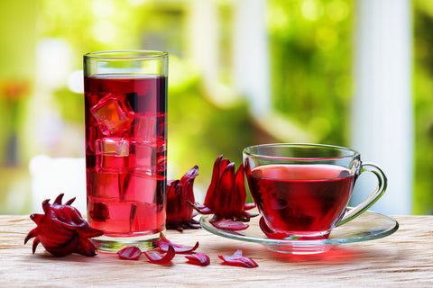 Hibiscus flower tea - organic