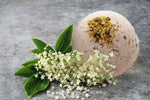 Elderflower & Pink Grapefruit with Pink Australian Clay Bath Bomb