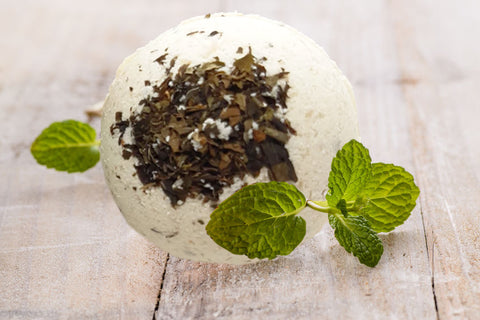 Spearmint & Rosemary with Kaolin Clay Bath Bomb
