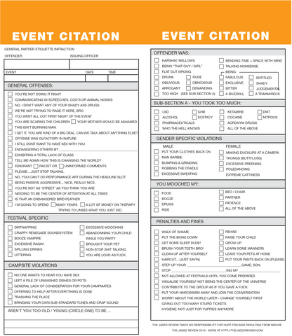 General Event Citation