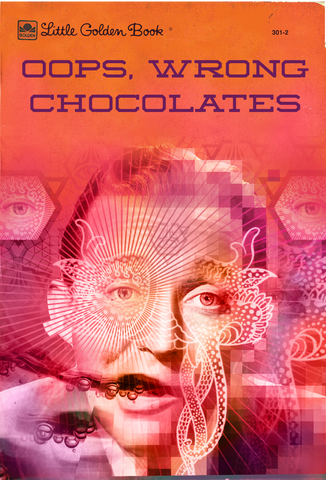 Postcard - Oops Wrong Chocolates