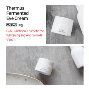 Puregen Thermus All day Vitalizing Eye Cream, 0.71Fl oz, 20 ml