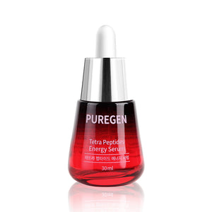 Puregen Tetra Peptides Energy Serum, 1.01Fl oz, 30ml