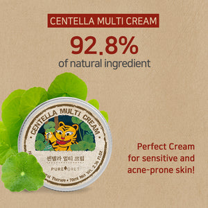Pureforet Centella Multi Cream, 2.36Fl Oz, 70ml