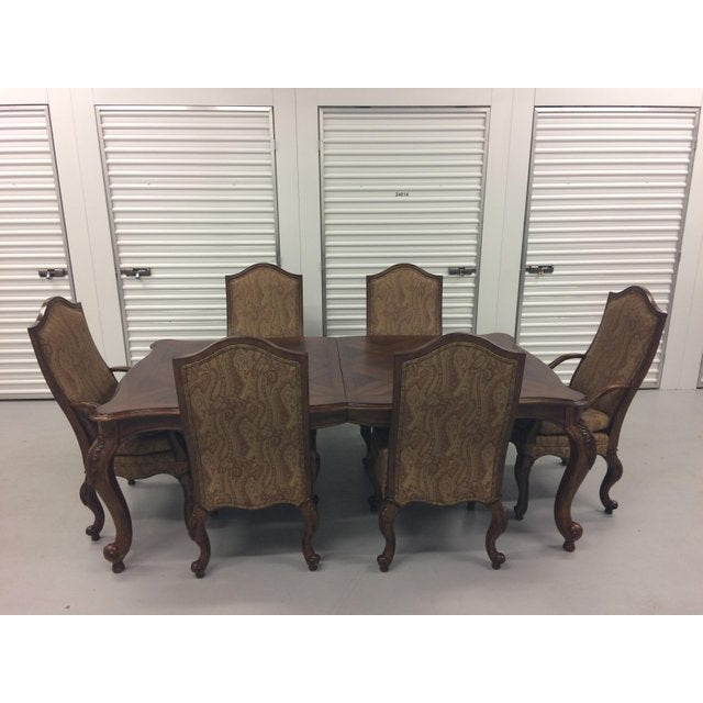 Brilliant Drexel Heritage Furniture Belle Maison Cherry Mahogany Dining Table Chair Set Bralicious Painted Fabric Chair Ideas Braliciousco