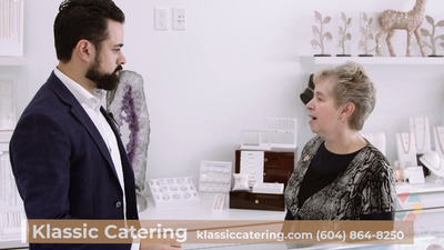 Klassic Catering delivers delicious wedding options