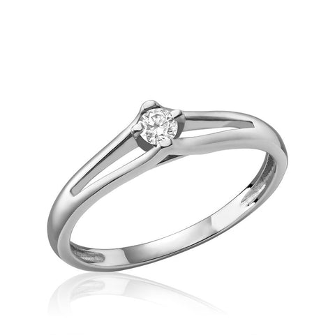 Diamond Solitaire Promise Ring