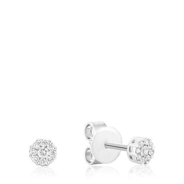 RNB JEWELLERY - Diamond Cluster Earrings