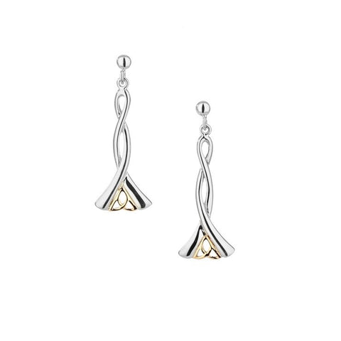 Keith Jack Trinity Knot Earrings