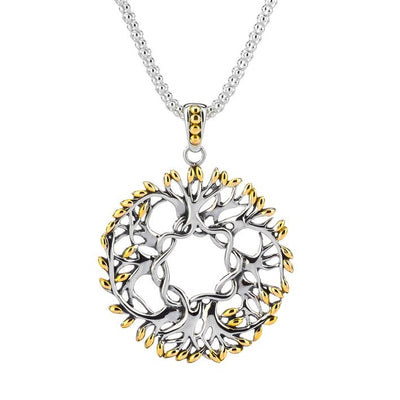 Keith Jack - Tree of Life Wreath Necklace