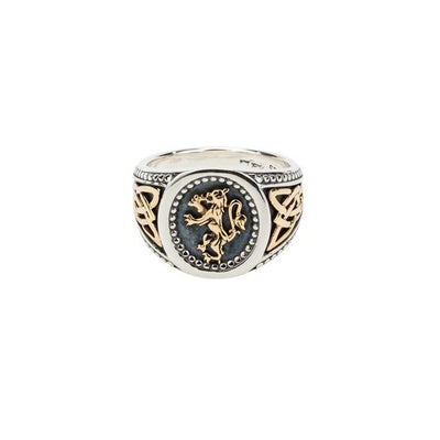 Keith Jack - Lion Rampant Ring
