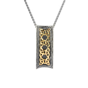 Sterling Silver & 10k Yellow Gold Pendant