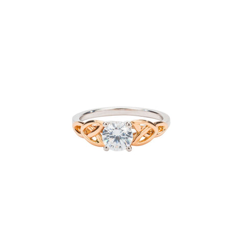 Keith Jack - Gold Celtic Engagement Ring