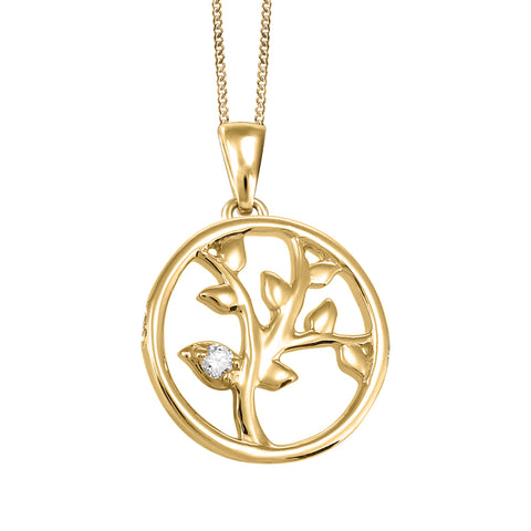 BEVERLY HILLS JEWELERS - Laurel Leaf Pendant