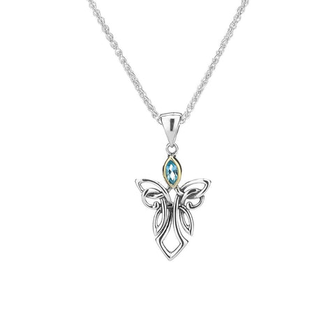 Keith Jack - Dainty Guardian Angel Necklace