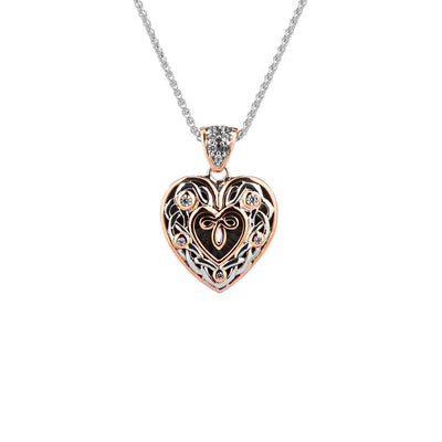 Keith Jack - Small Heart Necklace