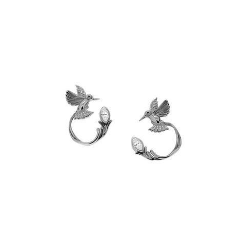 Keith Jack - Humming Bird Stud & Jacket Earring