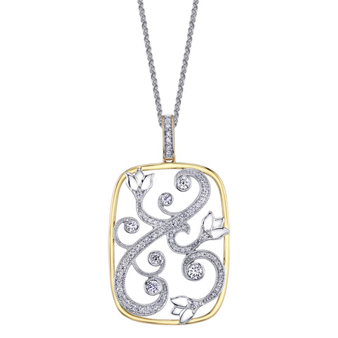 Shelly Purdy Seasons - Enchanted Garden Canadian Diamond Pendant