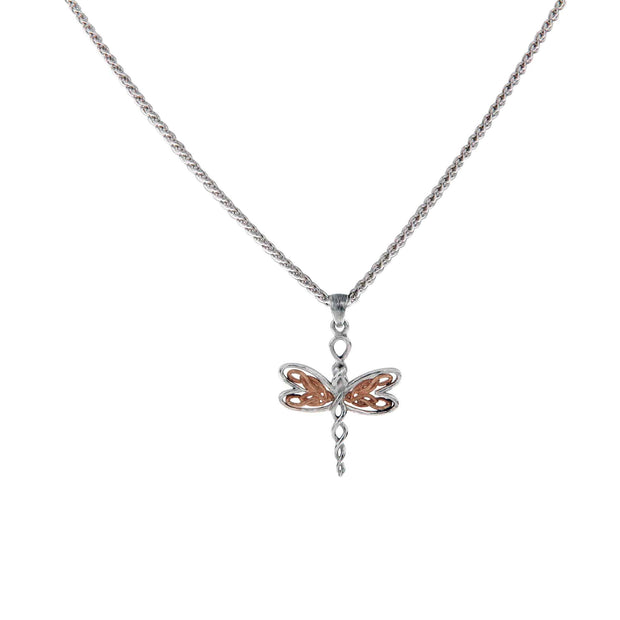 Keith Jack Celtic Knot Dragonfly Pendant