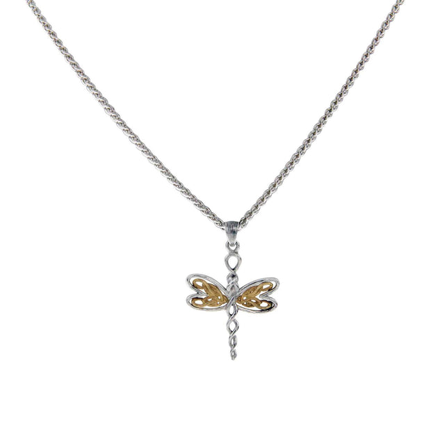 Keith Jack - Celtic Knot Dragonfly Necklace