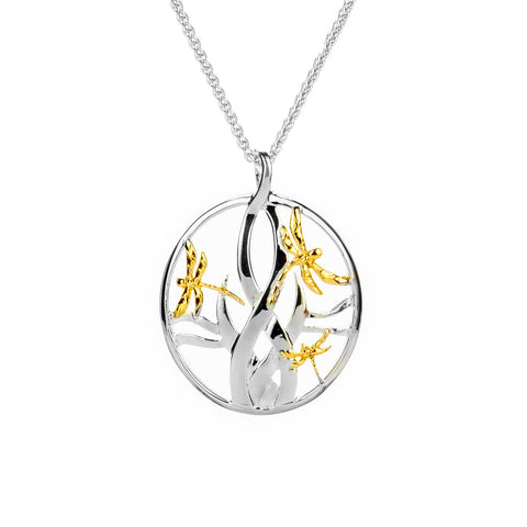 Keith Jack Small Dragonfly Pendant