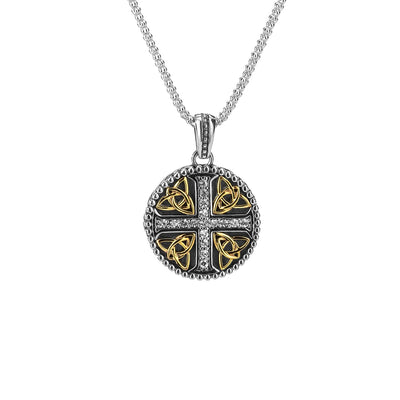 Keith Jack Trinity Cross Pendant