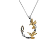Keith Jack - Gold Humming Bird Necklace