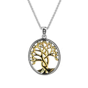 Keith Jack - Large Tree of Life Necklace