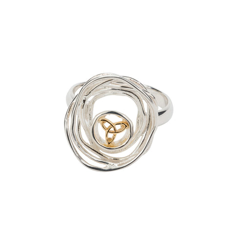 Keith Jack -  Celtic Cradle of Life Ring