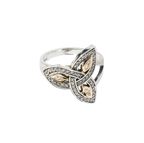 Keith Jack Trinity Knot Ring