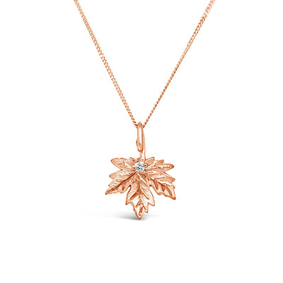 BEVERLY HILLS JEWELERS - Maple Leaf Pendant