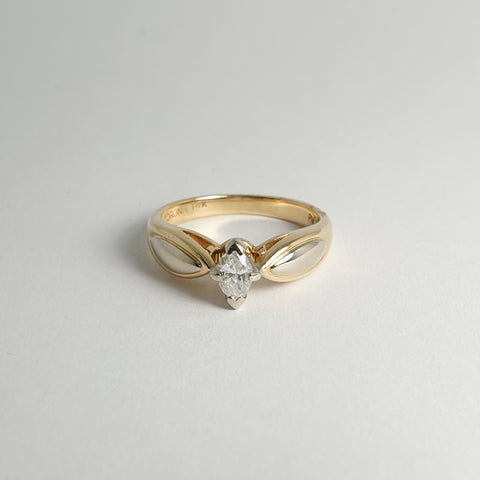 Estate Marquise Diamond Ring
