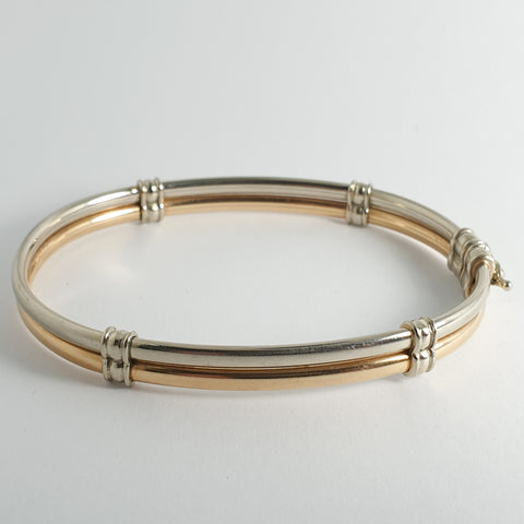 Estate Two Toned Bangle