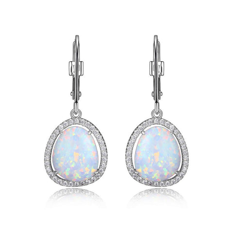 ELLE - Halo Drop earrings