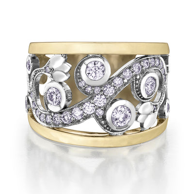 SHELLY PURDY SEASONS - Enchanted Garden Canadian Diamond Ring