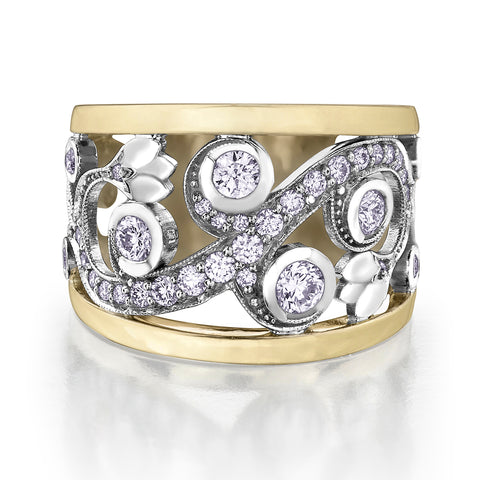 Shelly Purdy Enchanted Garden Diamond Ring