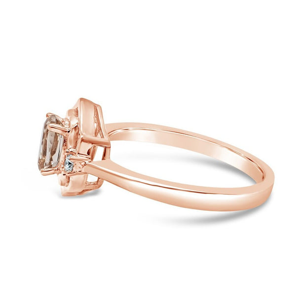 Art Deco Morganite Ring