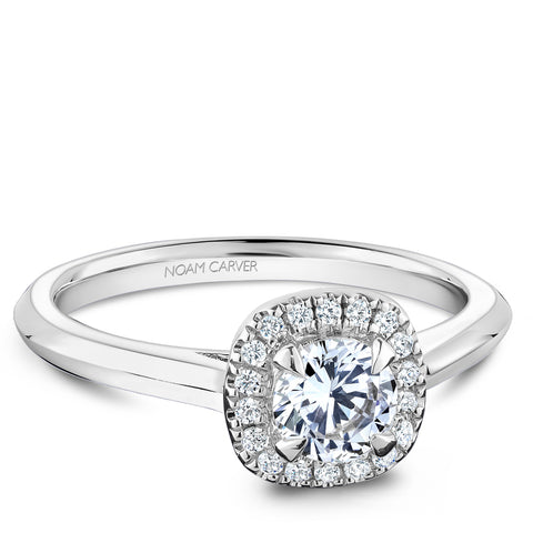 Noam Carver Studio Diamond Engagement Ring