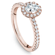 Noam Carver Studio - 14k Gold Diamond Engagement Ring