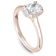 Noam Carver Studio - Rose Cut Diamond Engagement Ring