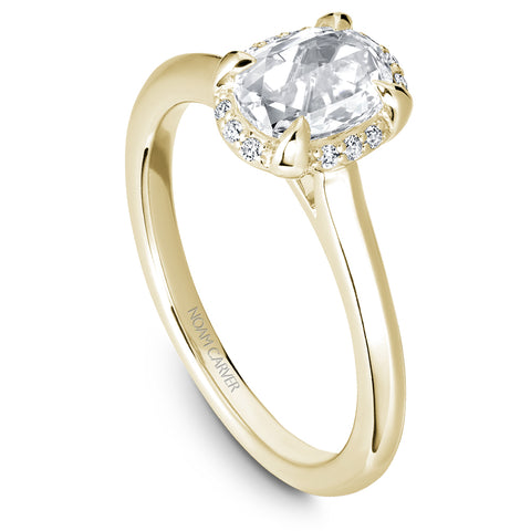 Noam Carver Studio Rose Cut Diamond Engagement Ring