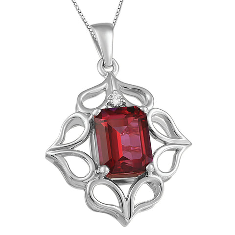 Beverly Hills Jewelers - Swarvoski Crystal Necklace