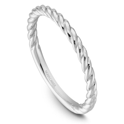 Noam Carver 14k White Gold Stackable Ring