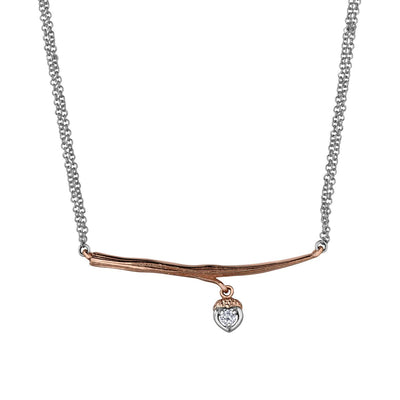 Shelly Purdy Seasons - Twiggy Love Canadian Diamond Pendant