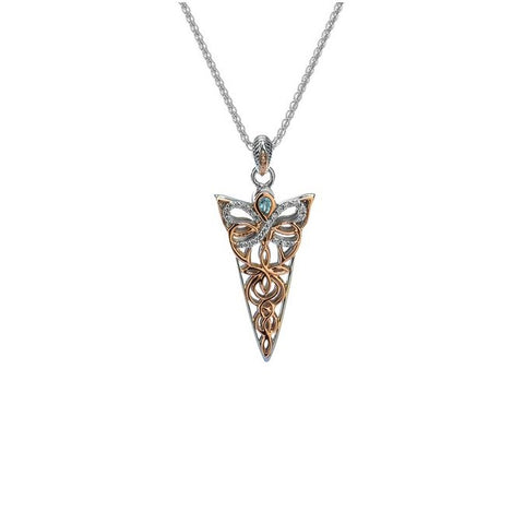 Keith Jack - Small Butterfly Necklace