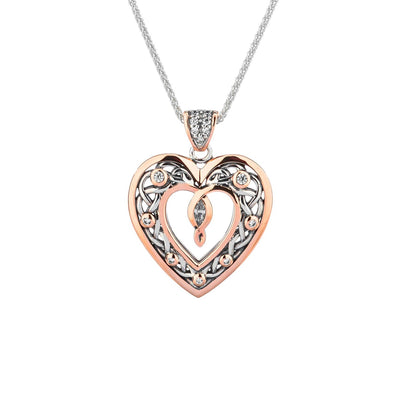 Keith Jack - Large Heart Necklace