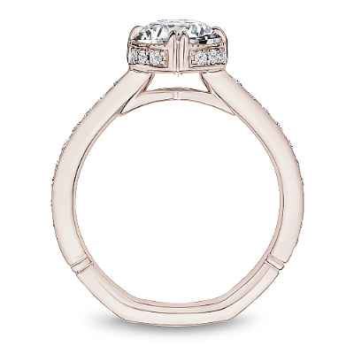 Noam Carver Atelier -  ONE CARAT 18K GOLD DIAMOND SEMI MOUNT