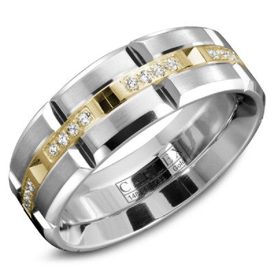 Carlex Men's Luxury Wedding Band