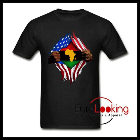 Africanflag Eure_Looking_Good_Apparel black S