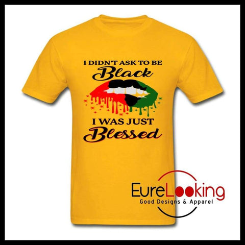 Blessed to Be Black Eure_Looking_Good_Apparel gold S